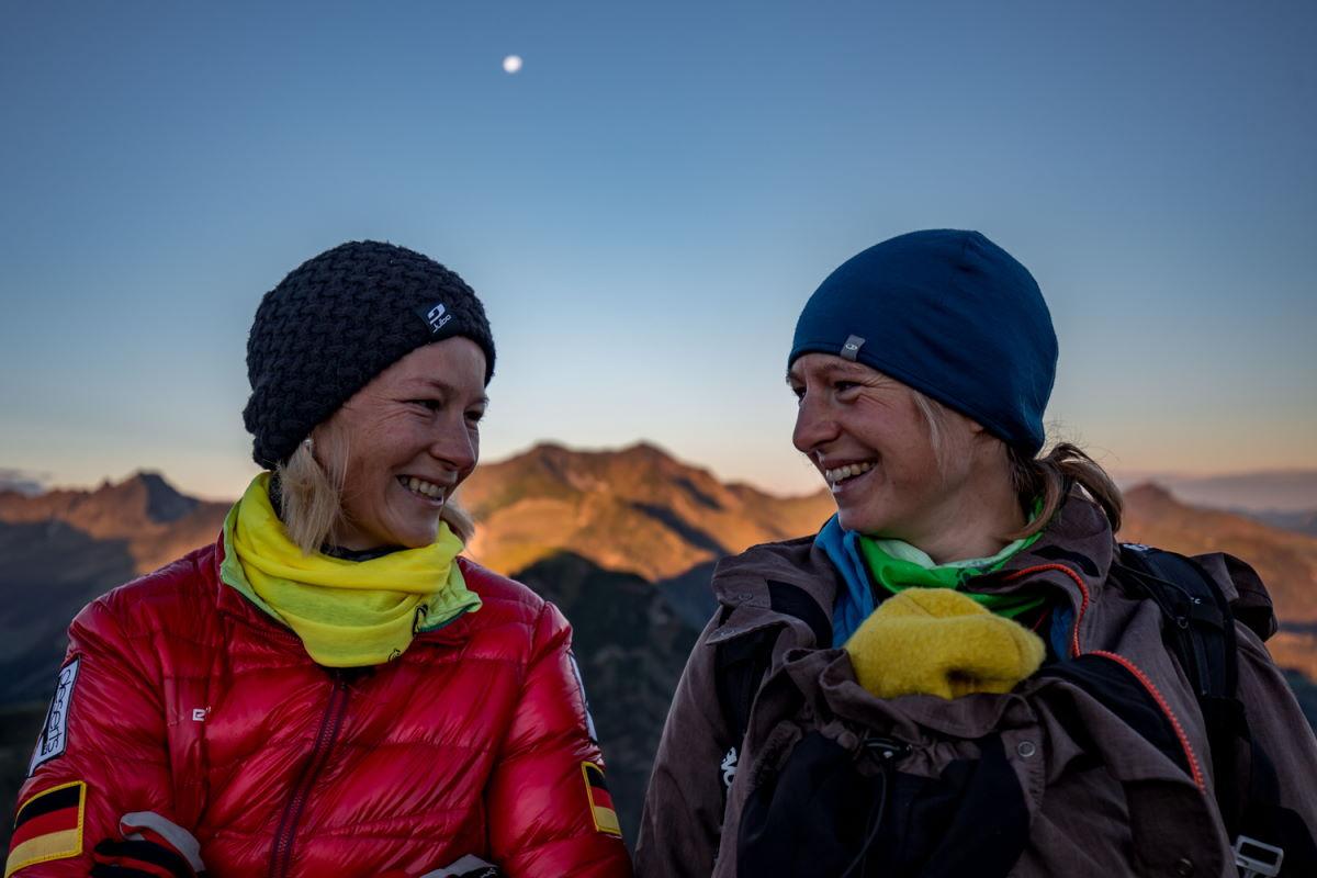 Tanja Schönenborn beim Trailcamp