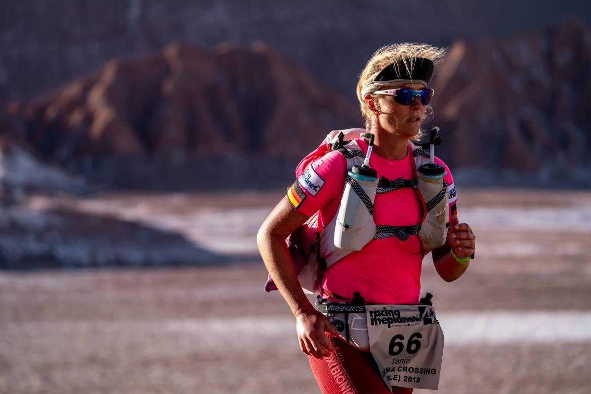 Tanja Schönenborn beim Ultralauf