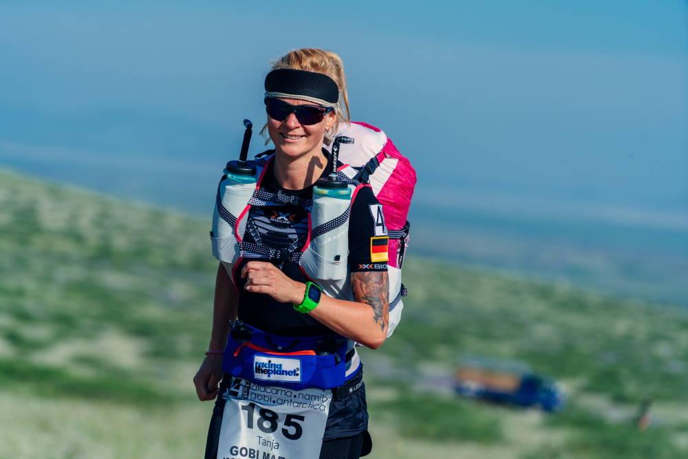 Tanja Schönenborn beim Lauf